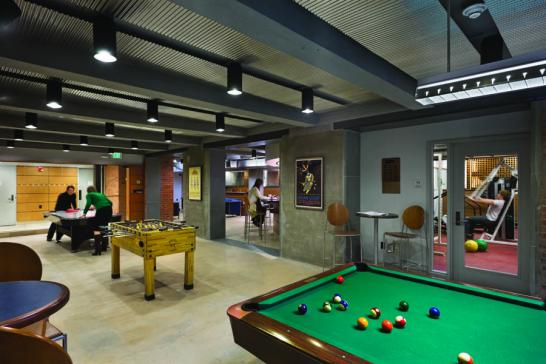 Game Room Jonathan Edwards College Interiors Inside Ideas Interiors design about Everything [magnanprojects.com]